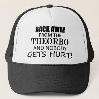 Zurück weg von dem Theorbo Truckerkappe