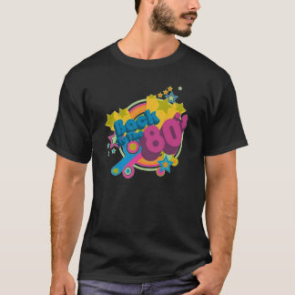 Zurück zu dem Retro T - Shirt Achtzigerjahre des