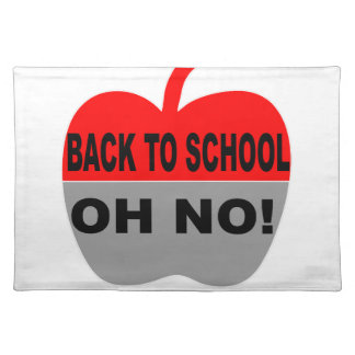 Zurück zu der keiner Schule oh Tischset