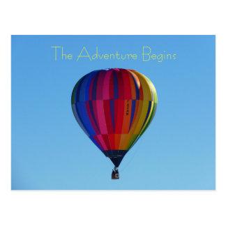 Zurück zu Schulabenteuer-Heißluft-Ballon-Postkarte Postkarte