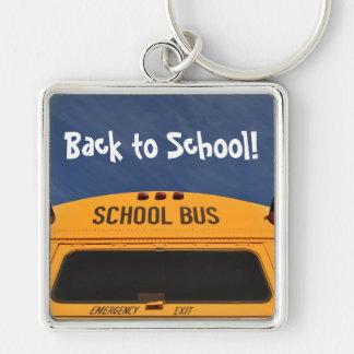 Zurück zu Schulbus Schlüsselanhänger