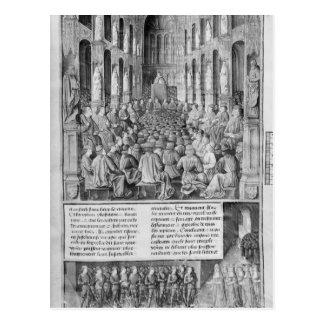 Zurückeroberung Papstes Urban II heilige Postkarte