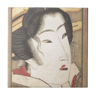 Zurückgewiesene Geisha von den Leidenschaften Keramikfliese