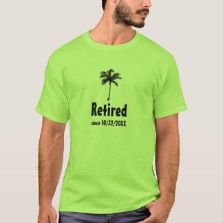 Zurückgezogen seit x-Jahr-Palme-Shirt T-Shirt