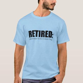 Zurückgezogen T-Shirt