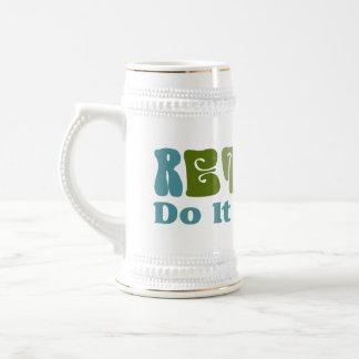 Zurückgezogen tun Sie es sich Tee Tassen