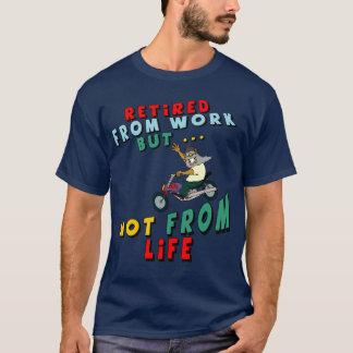 Zurückgezogen von der Arbeit T-Shirt