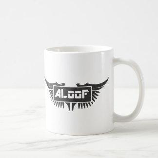 Zurückhaltend - Flügel Kaffeetasse