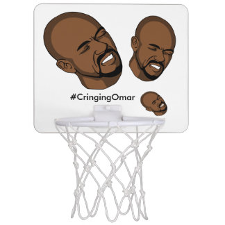 Zurückschreckender Omar-Basketballkorb Mini Basketball Netz