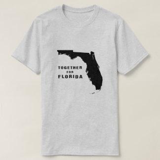 Zusammen für Florida nach Hurrikan Irma T-Shirt