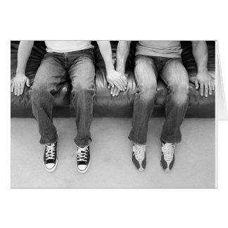 Zusammen für immer sitzen karte