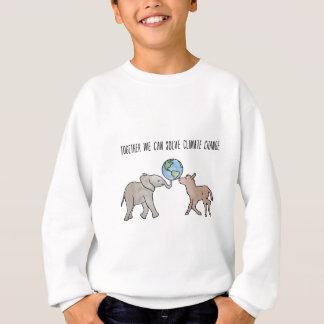 Zusammen können wir Klimawandel lösen Sweatshirt