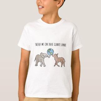 Zusammen können wir Klimawandel lösen T-Shirt