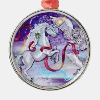 Zusammen sind wir eine ~christmas Verzierung Silbernes Ornament
