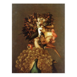 Zusammenfassende Beschreibung Giuseppe Arcimboldo Postkarte