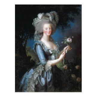 Zusammenfassende Beschreibungs-Königin Marie Postkarte