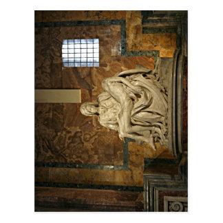 Zusammenfassende Beschreibungs-Michelangelos Piet? Postkarte