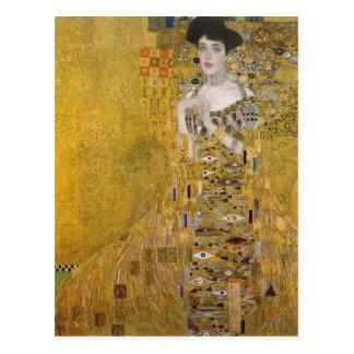Zusammenfassender Gustav Klimt Catal?: Retrat de Postkarte