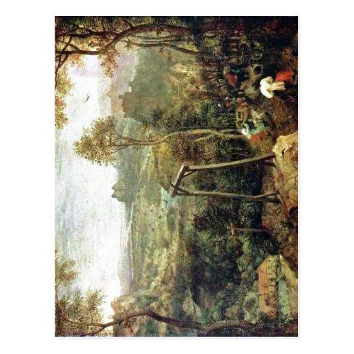 Zusammenfassender Pieter Bruegel das Älteste: Die  Postkarten