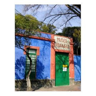 Zusammenfassung das blaue Haus in Coyoacan, wo Fri Postkarten