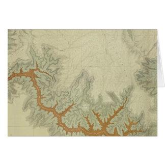 Zusammengesetzte geologische Karte von Kaibab