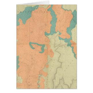 Zusammengesetztes Uinkaret Hochebene-Nord und Süd Karte