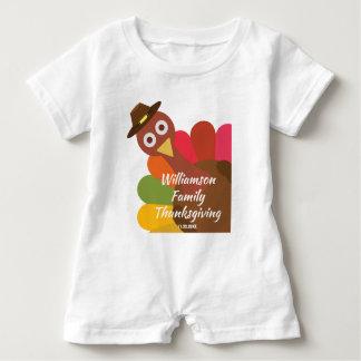 Zusammenpassende Familien-Gewohnheit der lustiger Baby Strampler