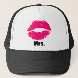 Zusammenpassender Hut der lustigen Paare, Set x2 Truckerkappe
