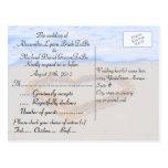 Zusammenpassendes UAWG für eingeladene Gäste Postkarten