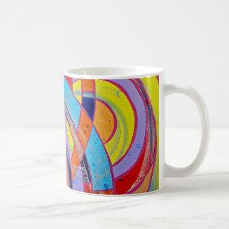Zusammensetzung #15 durch Michael Moffa Kaffeetasse