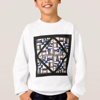 Zusammensetzung mit Fenster mit farbigem Glas III Sweatshirt