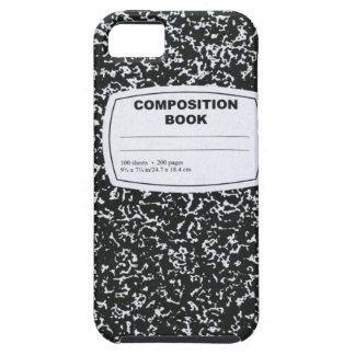 Zusammensetzungs-Buch-Referendar Hülle Fürs iPhone 5