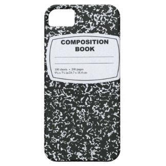 Zusammensetzungs-Buch-Referendar iPhone 5 Hülle
