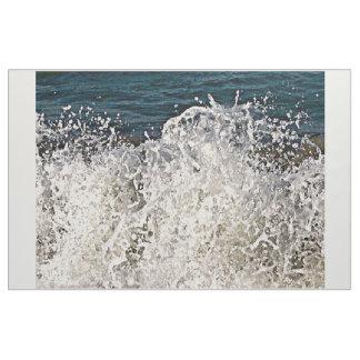 Zusammenstoßende Welle Stoff
