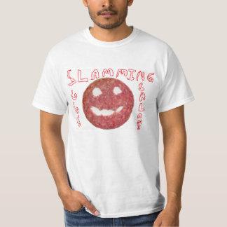 Zuschlagen des Salami-Shirts T-Shirt