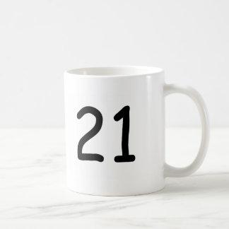 Zwanzig ein kaffeetasse
