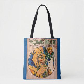Zwanzigerjahre Cohans Theater playbill Abdeckung Tasche