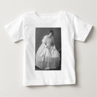 Zwanzigerjahre, die Foto der Braut Wedding sind Baby T-shirt