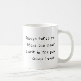 Zwar gekocht zu den Bändern Kaffeetasse