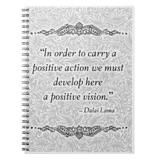 Zwecks ein Positiv tragen - positives Quote´s Notizblock