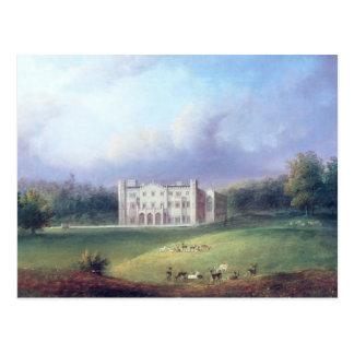 Zwei Ansichten von Apley Priory Postkarte