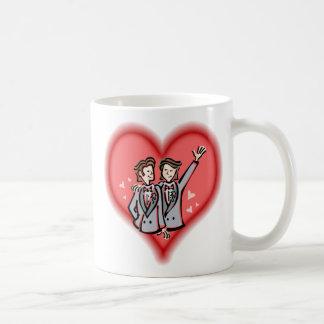 Zwei Bräutigame Kaffeetasse