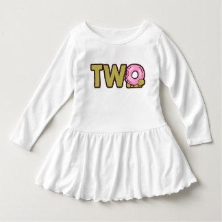 Zwei des alten | Geburtstags-Jahre Shirt-, zwei Kleid