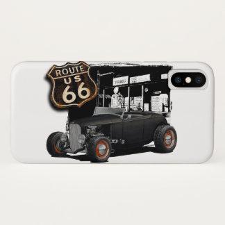 Zwei des Weg-66 iPhone X Hülle