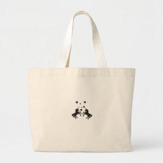 Zwei Einhörner Tasche