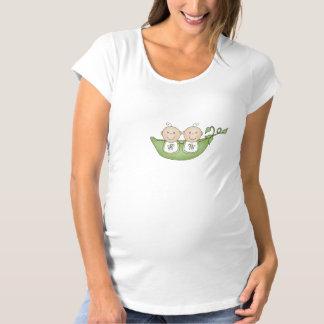Zwei Erbsen im Hülsen-T - Shirt