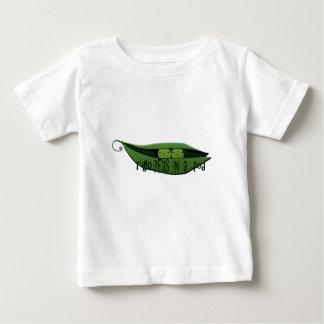 Zwei Erbsen in einer Hülse Baby T-shirt