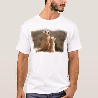 Zwei Erdmaennchen T-Shirt