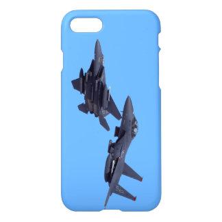Zwei F-15E Streik-Eagles-Telefon-Kasten iPhone 8/7 Hülle