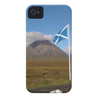 zwei Flaggen Schottland iPhone 4 Hüllen